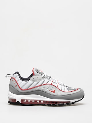 Topu00e1nky Nike Air Max 98 (particle grey/track red iron grey)