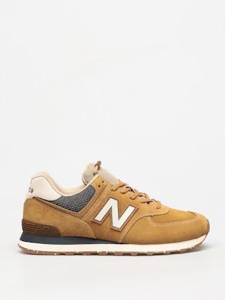 Topu00e1nky New Balance 574 (brown)