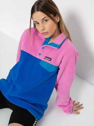 Flisovu00e1 mikina Patagonia Lightweight Synchilla Snap T Wmn (marble pink)