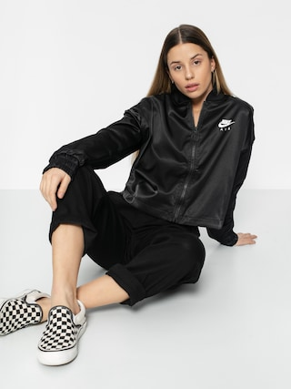 Bunda Nike Air Trk Jkt Satin Wmn (black)