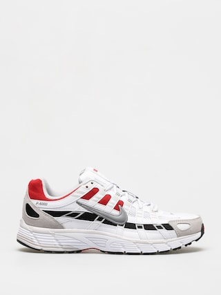 Topu00e1nky Nike P 6000 (white/particle grey university red)