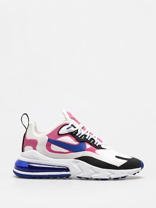 Topu00e1nky Nike Air Max 270 React Wmn (summit white/hyper blue cosmic fuchsia)