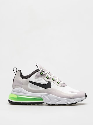 Topu00e1nky Nike Air Max 270 React (summit white/electric green vast grey)