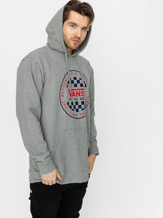 Mikina s kapucňou Vans Og Checker HD (cement heather)