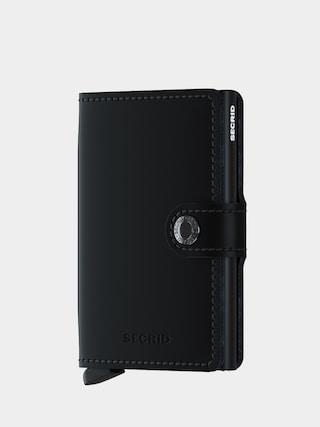Peňaženka Secrid Miniwallet (matte black)