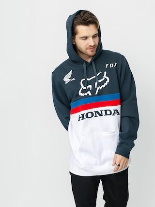 Mikina s kapucu0148ou Fox Honda HD (nvy/wht)