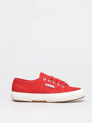 Topu00e1nky Superga 2750 Cotu Classic Wmn (red/white)