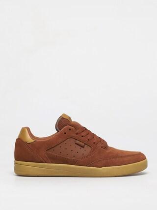 Topu00e1nky Etnies Veer (brown/gum)