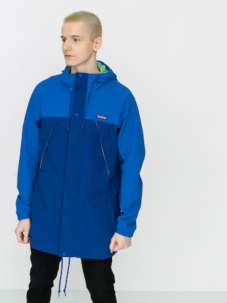 Bunda Patagonia Recycled Nylon Parka (superior blue)