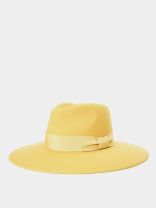 Klobu00fak Brixton Joanna Felt Hat Wmn (sunset yellow)