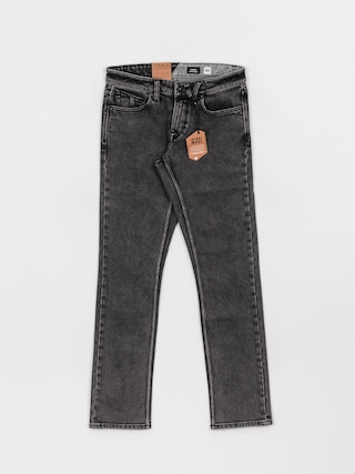 Nohavice Volcom Vorta Denim (light acid black)