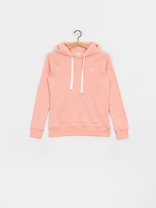 Mikina s kapucu0148ou Element Lette HD Wmn (coral pink)