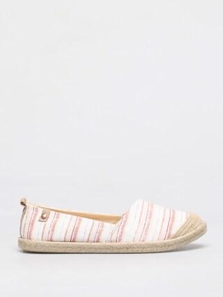 Topánky Roxy Flora II Wmn (pink stripe)