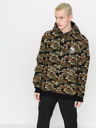Mikina s kapucňou Volcom X Macba Life HD (camouflage)