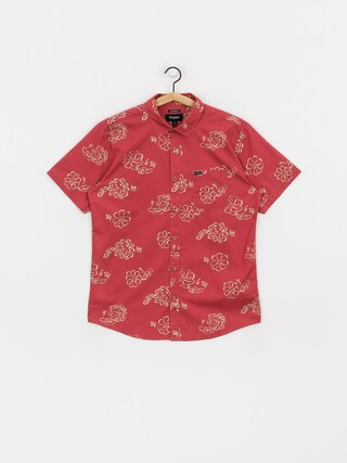 Kou0161eu013ea Brixton Charter Print Wvn (lava red)