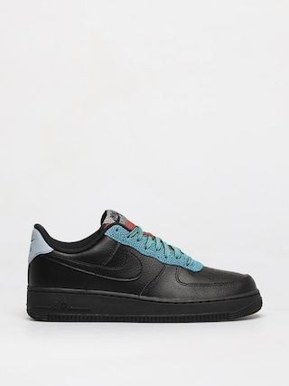 Topu00e1nky Nike Air Force 1 07 Lv8 (black/black obsidian mist cool grey)