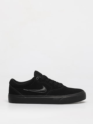 Topu00e1nky Nike SB Charge Suede Gs (black/black black)