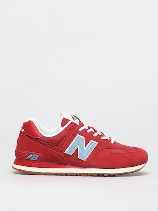 Topu00e1nky New Balance 574 (red/blue)