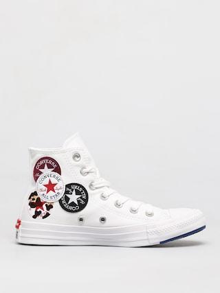 Tenisky Converse Chuck Taylor All Star Multi Logo Hi (optical white)