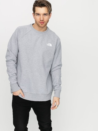 Mikina The North Face Raglan Redbox (light grey/digital camo)