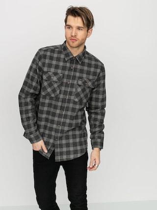 Kou0161eu013ea Brixton Bowery Flannel (black/heather grey)