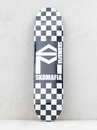 Doska Sk8Mafia House Logo (checker black)