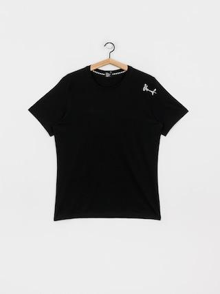 Tričko Stoprocent Smalltag (black)
