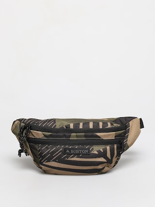 u013dadvinka Burton Hip Pack (martini olive woodcut palm)