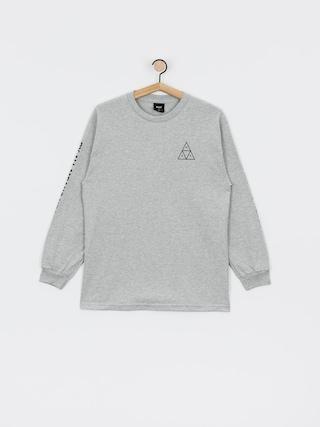 Triko HUF Essentials TT (grey heather)