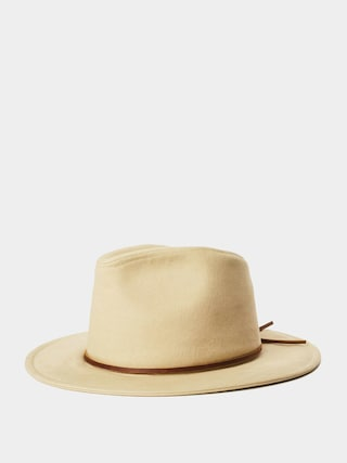 Klobu00fak Brixton Wesley Cotton Fedora (light khaki)