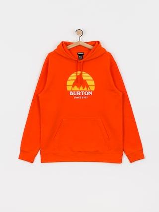 Mikina s kapucu0148ou Burton Underhill HD (orangeade)
