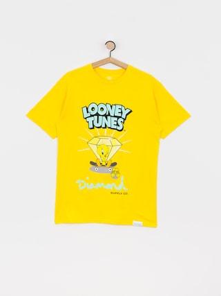 Triu010dko Diamond Supply Co. Tweety Skate (yellow)