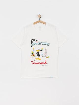 Triu010dko Diamond Supply Co. Looney Tunes (white)