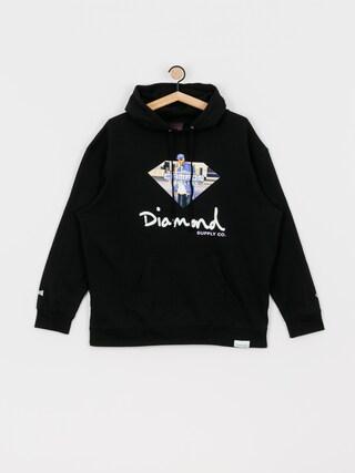 Mikina s kapucňou Diamond Supply Co. Cam Ron Sign HD (black)