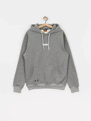 Mikina s kapucňou MassDnm Classics Small Logo HD (lt heather grey)
