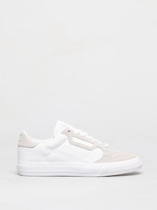Topu00e1nky adidas Originals Continental Vulc (ftwwht/ftwwht/ftwwht)