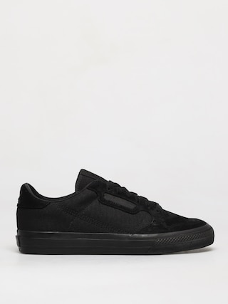 Topu00e1nky adidas Originals Continental Vulc (cblack/cblack/ftwwht)