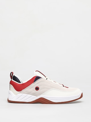 Topu00e1nky DC Williams Slim S (white/navy/red)
