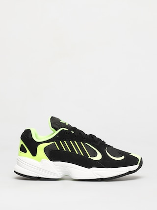 Topu00e1nky adidas Originals Yung 1 (core black/core black/hi res yellow)