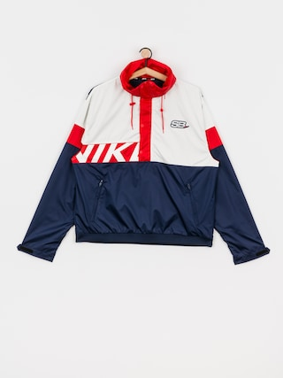 Bunda Nike SB Anorak (midnight navy/white/university red/white)