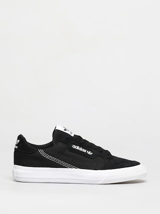 Topu00e1nky adidas Originals Continental Vulc (cblack/ftwwht/cblack)