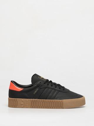 Topu00e1nky adidas Originals Sambarose Wmn (cblack/cblack/solred)