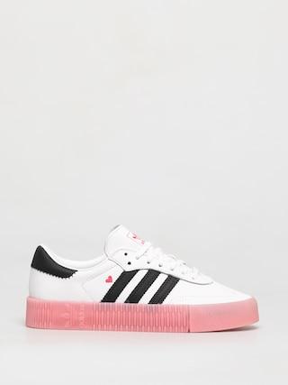 Topánky adidas Originals Sambarose Wmn (ftwwht/cblack/glopnk)