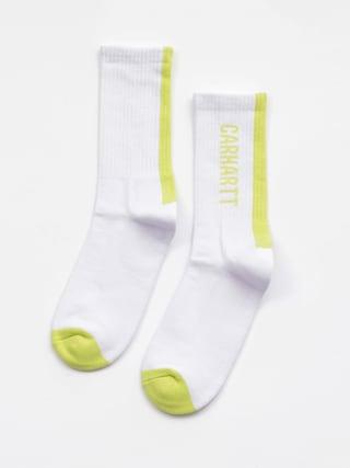 Ponou017eky Carhartt WIP Turner (white/lime)