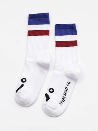 Ponožky Polar Skate Happy Sad Stripes (blue)