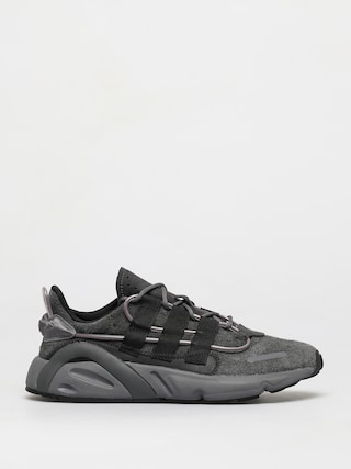 Topu00e1nky adidas Originals Lxcon (grey six/core black/signal green)