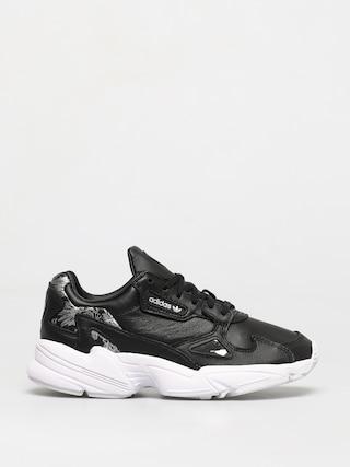 Topu00e1nky adidas Originals Falcon Wmn (core black/core black/silver met)
