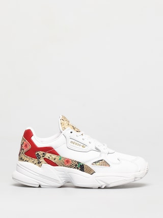 Topánky adidas Originals Falcon Wmn (white/scarlet/gold met)