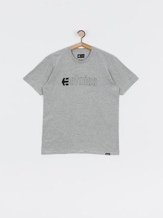 Tričko Etnies Ecorp (grey/heather)