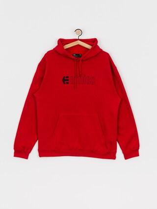 Mikina s kapucu0148ou Etnies Ecorp HD (red)
